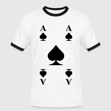 Ace of spades  - Men's Ringer Shirt