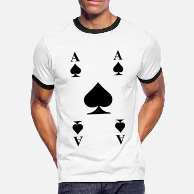Cards Cards - Men's Ringer Shirt