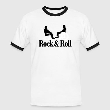 Rock n Roll 2clr New - Männer Kontrast-T-Shirt