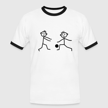 Handball player - Handbal - Men's Ringer Shirt