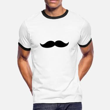 Porno Funny Funny barbe & Mustache - T-shirt contrasté Homme