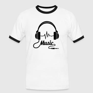 Earphones Music! - Men's Ringer Shirt