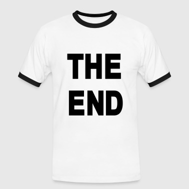 The End - Mannen contrastshirt