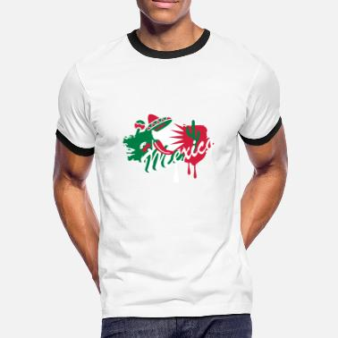 Maracas A Mexican Graffiti - Men's Ringer Shirt