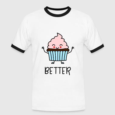 Better Together Partnerlook (Part1) Muffin - Men's Ringer Shirt