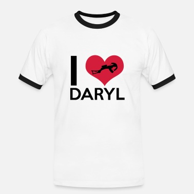Dixon I Love Daryl - Men's Ringer Shirt