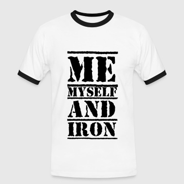 Iron Addicts Iron - Men's Ringer Shirt