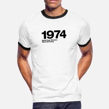 1974 West Germany - Men's Ringer Shirt