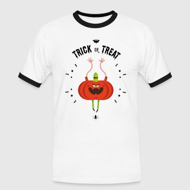 trick or treat - Men's Ringer Shirt