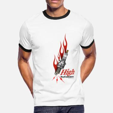 Performance high performance - T-shirt contrasté Homme