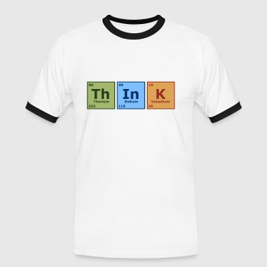 Think - Men's Ringer Shirt