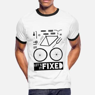 Fixed Gear Let's Fixed It - Männer Ringer T-Shirt