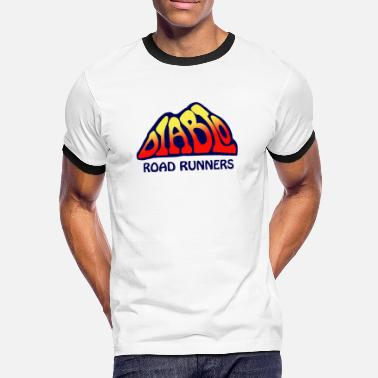 Dave Diablo Road Runners (Foo Fighters) - Men's Ringer Shirt