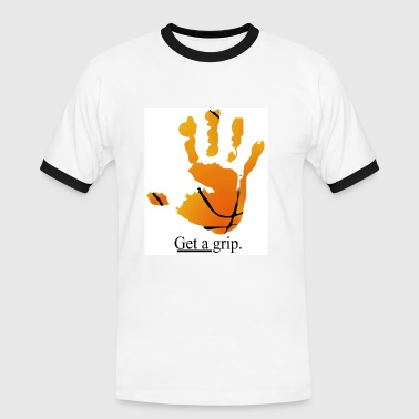 Get a grip - Men's Ringer Shirt