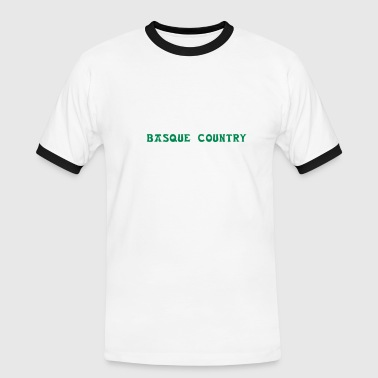 euskadi basque country - Camiseta contraste hombre