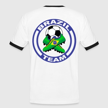 Brazil Sport Football - Men's Ringer Shirt