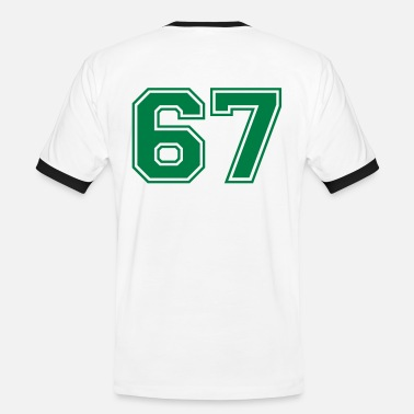 67 67 - Men's Ringer T-Shirt