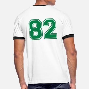 Number 82 82 - Men's Ringer Shirt