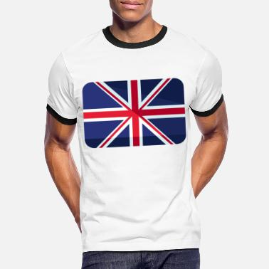 Great Britain Great Britain Flag Great Britain - Men's Ringer T-Shirt