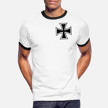 Kreuz iron_cross - Men's Ringer T-Shirt