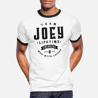 Joey Team Joey - Men's Ringer T-Shirt