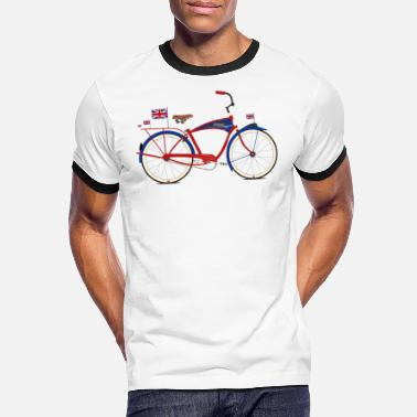 Schwinn British Bicycle - Men's Ringer T-Shirt