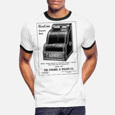 Reclame oude reclame - Mannen ringer T-shirt