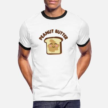 Butter Peanut Butter - Peanut Butter Peanut Cream Shirt - Men's Ringer T-Shirt