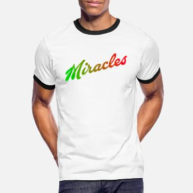 Miracle Miracles - T-shirt contrasté Homme