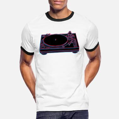Record Player record player - Men's Ringer T-Shirt