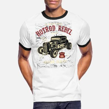 Hot Rod Hot Rod Rebel II - Camiseta contraste hombre