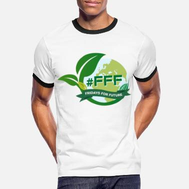 Fridays For Future Fridays For Future - #FFF - Kontrast T-shirt herr