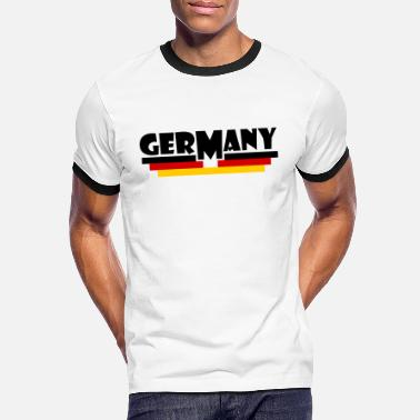 Germany Flag Germany flag - Germany flag - Men's Ringer T-Shirt