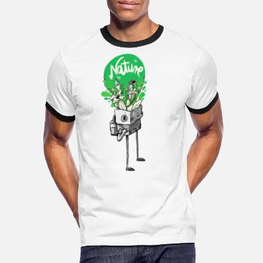 Natur Nature in my mind - Männer Ringer T-Shirt