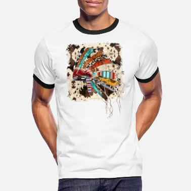 Headdress Headdress Western - Men's Ringer T-Shirt