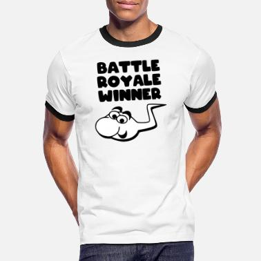 Spermaplet Royales Battle Gaming T-Shirt sjov gave - Kontrast T-shirt mænd