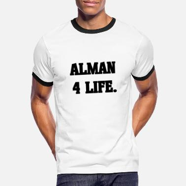 Alman 4 Life German Potato Turk Arab - Maglietta in contrasto uomo