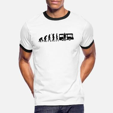 Evolution bus driver bus driver b - Men's Ringer T-Shirt