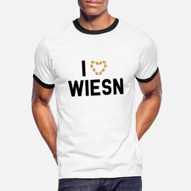 I Love Wiesn I LOVE WIESN - Men's Ringer T-Shirt