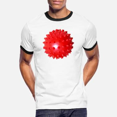 Facemask Red Ball Facemask - Red Ball Facemask - Kontrast T-shirt mænd