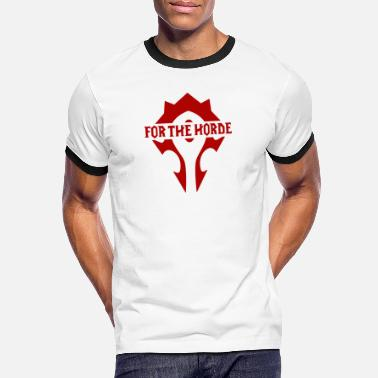 Horde for the horde! wow! - Men's Ringer T-Shirt