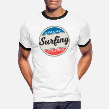 International Match Surfing International Graphic - Men's Ringer T-Shirt