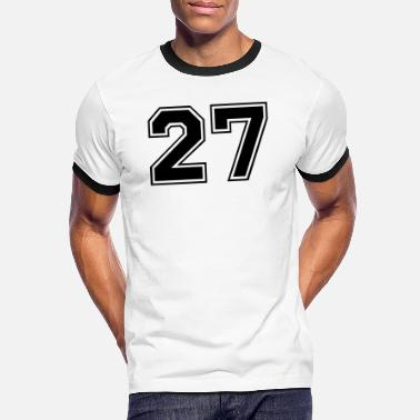 27 27 - Men's Ringer T-Shirt