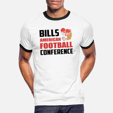 Conferentie Bills American Football-conferentie - Mannen ringer T-shirt