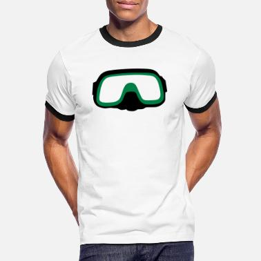 Diving Mask diving Mask - Men's Ringer T-Shirt