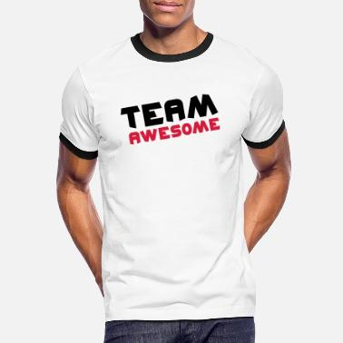 Team Awesome Team Awesome - Kontrast T-shirt herr