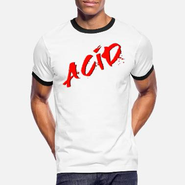 Acid Rap Acid - Techno - Acid House - Acid Rap - T-shirt contrasté Homme