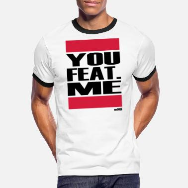 USTED ME FEAT - Camiseta contraste hombre