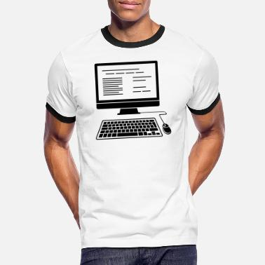 Desktop PC desktop computer - Men's Ringer T-Shirt