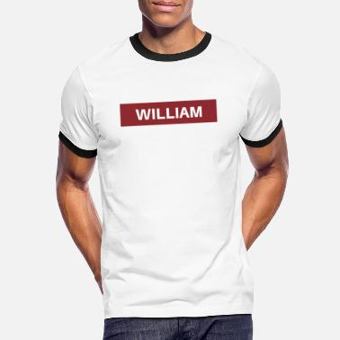 William William - Camiseta contraste hombre
